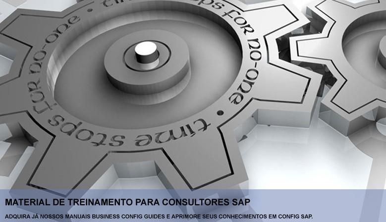 Material de Treinamento para Consultores SAP